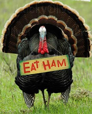 Eat Ham not Turkey